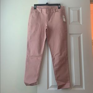 NWT Old Navy pink pixie pants, size 6
